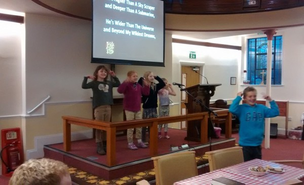 Junior Church Leading Worship